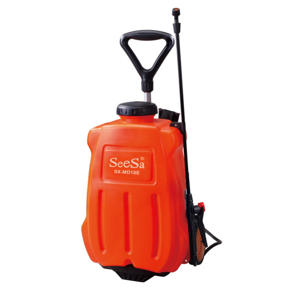 Seesa 16/18/20L 12V battery operated spray pump rechargeable electric knapsack trolley type agricultural sprayer