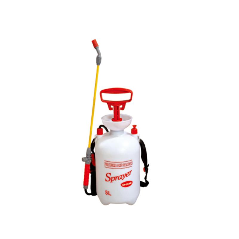 Seesa custom logo 8L garden backpack pressure pump plastic insecticide weedicide sprayer