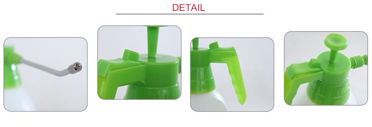 Seesa 2L plastic long nozzle mist sprayer bottle