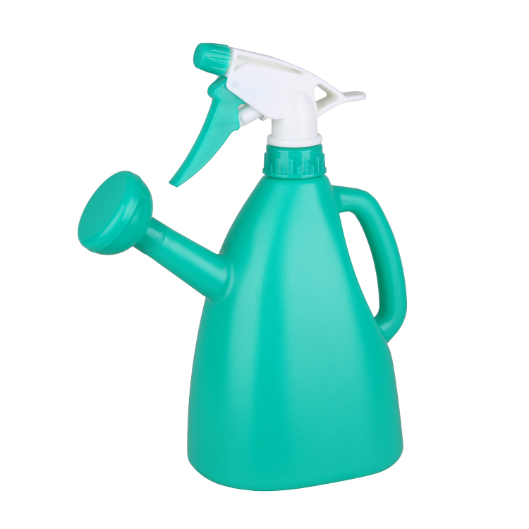 900ml  2 in 1 colorful plastic watering trigger sprayer assembly machine for garden
